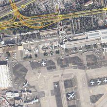 Aéroport Nice Côte d'Azur sur Google Maps