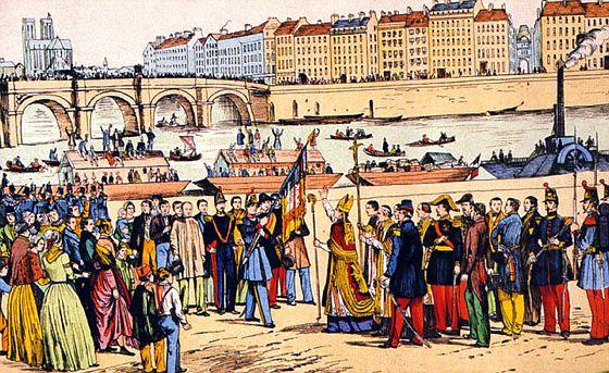 Le voyage des 12000 ouvriers vers l'Algérie dans Les premiers colons benediction-colons-algerien