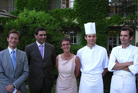 H tel de mougins christophe di chef du restaurant le - Hotel de mougins restaurant le jardin ...