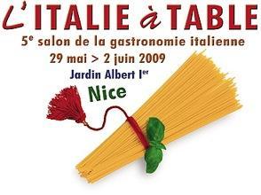 Nice l 39 italie table dans les jardins albert 1er cuisine - Chambre de commerce italienne en france ...