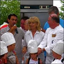 Les chefs de la Riviera à Villeneuve Loubet près de Nice Fêtes Gourmandes 2009