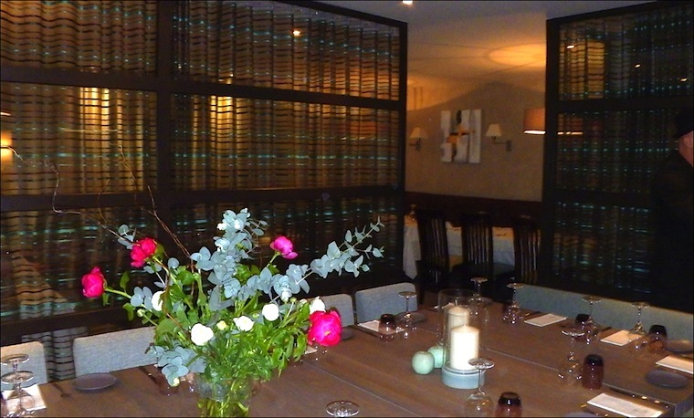 Cannes le restaurant mantel voit plus grand avec la table - Restaurant la table de bruno saint maximin ...