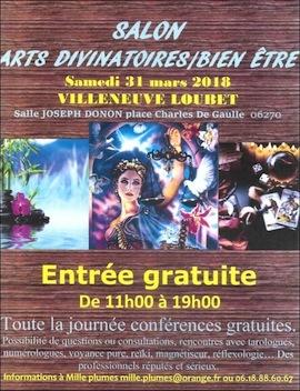 Salon des arts divinatoires du bien tre villeneuve loubet village 2018 - Home salon villeneuve loubet ...