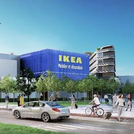 lancement officiel des travaux de construction d 39 ikea nice pr s du grand stade plaine du var 2018. Black Bedroom Furniture Sets. Home Design Ideas