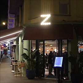 z restaurant taps sq