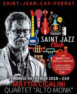 Concert en hommage thelonius monk au saint jazz club 2018 - Office du tourisme saint jean cap ferrat ...