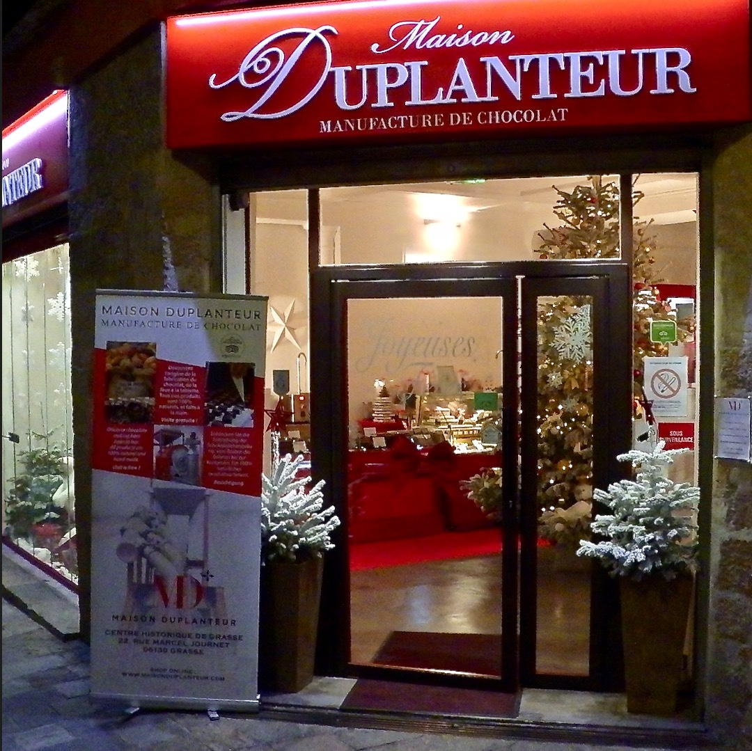 Maison duplanteur grasse une manufacture de chocolat for Maison du monde grasse