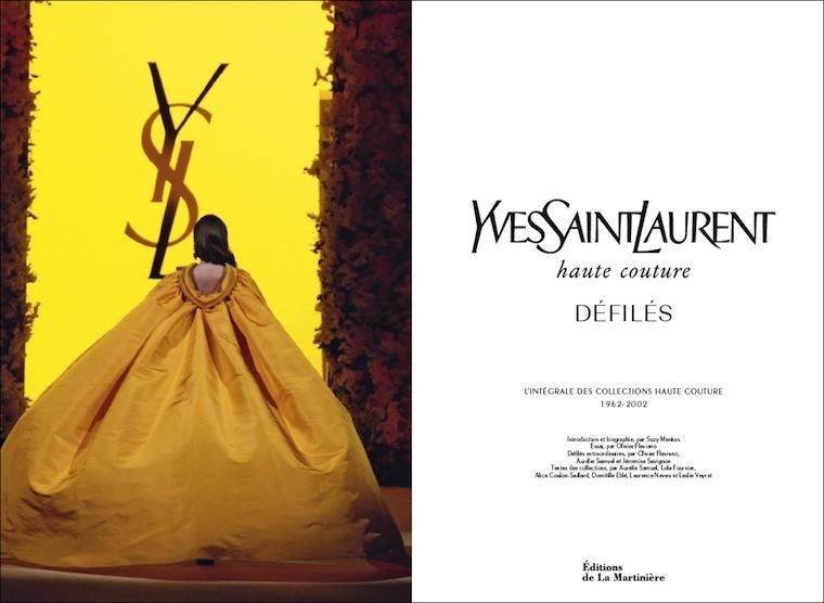 Haute Couture Yves Saint Laurent Et Chanel Karl Lagerfeld