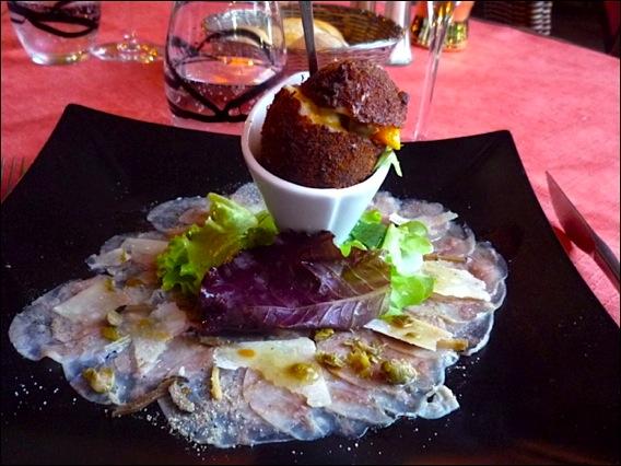 Restaurant le blanc manger brigitte guignery la colle sur for Au feminin cuisine