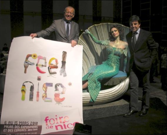 Foire de Nice 2010 Feel Nice présentée à la Diacosmie::Paul Obadia