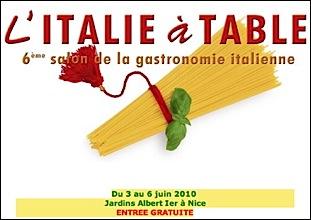 Nice l italie table 2010 la m diterran e des chefs et - Chambre de commerce italienne en france ...