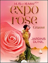 Grasse expo rose 2011 jardins du nil loisirs for Jardin du nil wine