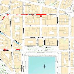 nice port garibaldi plan circulation chantier tramway nicerendezvous 2016. Black Bedroom Furniture Sets. Home Design Ideas