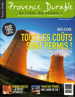 Provence Durable Magazine Nice RendezVous rayon Presse