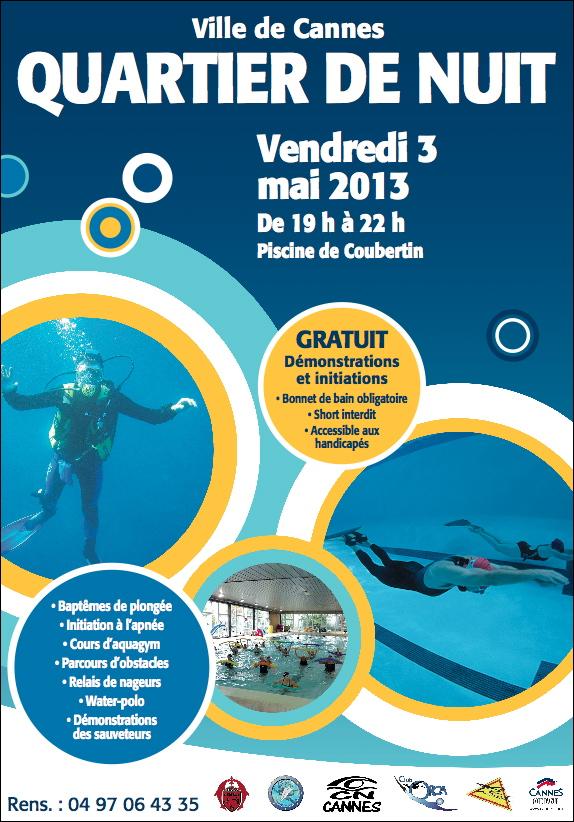 Cannes journ e municipale des 1er secours quartier de for Cannes piscine municipale