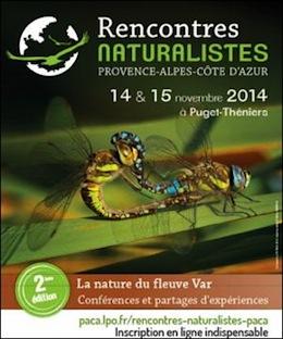 Rencontres naturalistes 2016