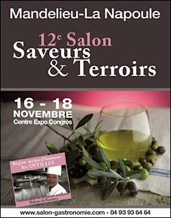 Mandelieu la napoule le salon saveurs et terroirs 2012 for Salon saveurs