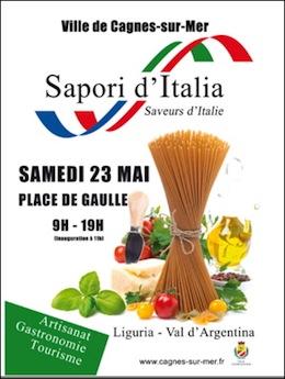 Cagnes sur mer 1 sapori d italia sabato 23 4 passer alla tv cinese in giugno previsti 280 - Salon gastronomique cagnes sur mer ...