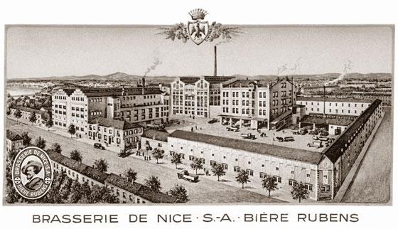 Brasserie de Nice SA Bière Rubens (source : nicerendezvous.com)