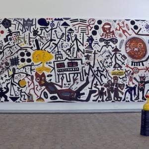 Exposition A.R. Penck à la Fondation Maeght Saint Paul de Vence