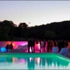 Au Château de la Bégude à Opio, Soirée caritative au profit des victimes du 14 juillet à Nice