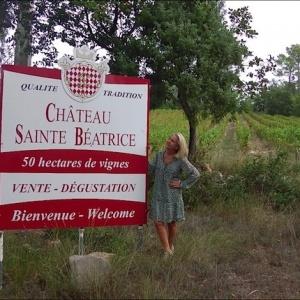 La nouvelle vie de Château Sainte Béatrice à Lorgues, Var