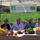 Villeneuve-Loubet Signature d'un bail rural pour une ferme biologique au quartier des plans