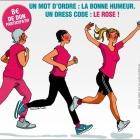 Nice Jogging Rose 2016, une course organisée par l'association SOS Cancer du Sein