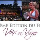 Var, Concert  Voix en Vigne au Château Roubine à Lorgues