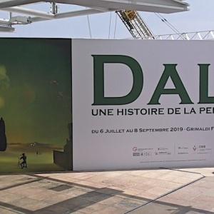 Exposition Dalí, Une Histoire de la Peinture au Grimaldi Forum Monaco
