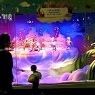 Au Printemps Polygone Riviera Présentation des vitrines animées de Noël