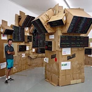 Nice À la Villa Arson Expositions Inventeurs d'Aventures & Anthony McCall