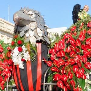 Le Carnaval à Nice, Menton, Mandelieu et sur la Côte d'Azur, corsos et batailles de fleurs