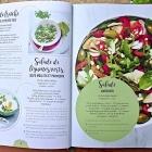 Salades Repas, 200 recettes gourmandes chez Larousse Nice RendezVous rayon Livres