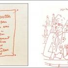 Réédition d'exception de Recettes pour un ami de Raymond Oliver, illustré par Jean Cocteau aux éditions de l'Épure
