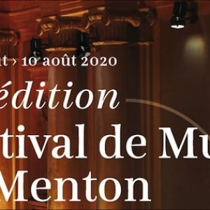Coup d'envoi du 71ème Festival de Musique de Menton
