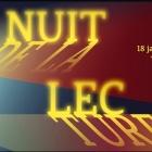 Nuit de la Lecture 2020 dans les Alpes Maritimes