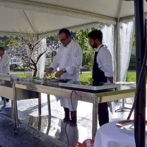 Les Fêtes Gourmandes de Villeneuve Loubet, Des Chefs et des Artistes