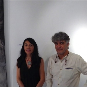 Exposition L'écume d'un Songe avec Nathalie Deshairs & Jean-Marie Fondacaro à la Galerie Bogena