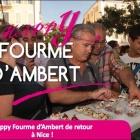 Nice Happy Fourme avec l'AOP Fourme d'Ambert sur la place Garibaldi