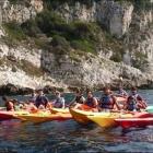 Nice Sorties en kayak avec le CDMM, la Côte d'Azur vue de la mer