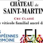 Les Journées du Patrimoine au  Château de Saint-Martin à Taradeau, Var