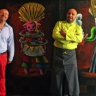 Cannes Exposition de l'artiste Moya au restaurant La Palme d'Or** de l'Hôtel Martinez