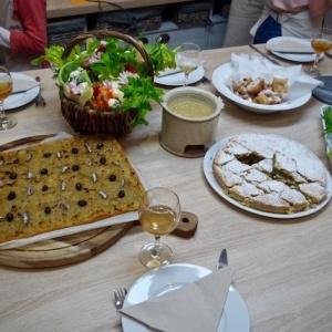 Cours de Cuisine Niçoise avec Notes de Cuisine à La Colle sur Loup