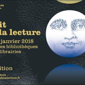 La Nuit de la lecture 2018 dans les bibliothèques et les librairies