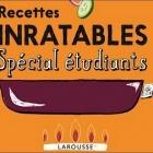 Recettes Inratables Spécial Étudiants Nice RendezVous rayon Livres