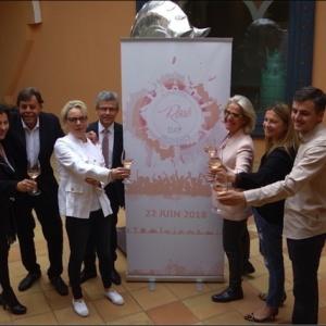 Présentation de l'International Rosé Day au Château de La Messardière à Saint Tropez