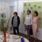 Mougins Table d'artiste Marie Ducaté invite Denise Vergé à la galerie Sintitulo