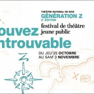 Au Théâtre de Nice Génération Z, Festival de Théâtre Jeune Public