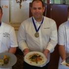 Nice Thomas Hubert, restaurant Olive & Artichaut remporte le Trophée Terroir et Saison de printemps